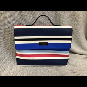 Kate Spade make up bag - nautical theme